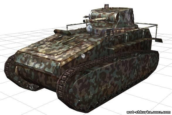 Шкурка для Ltraktor от P_o_g_S - Leichtetraktor - Немецкие танки ...